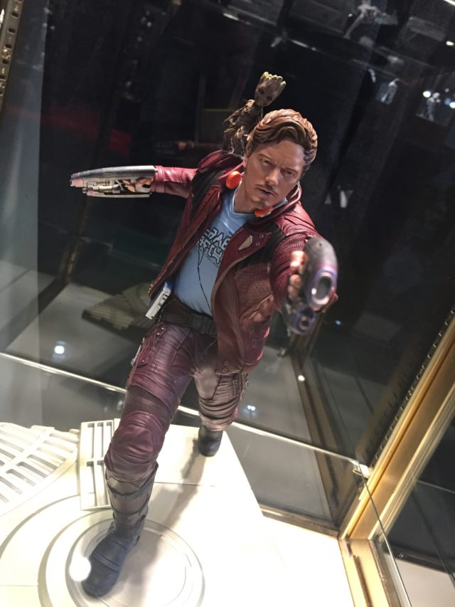 Star-Lord Kotobukiya ARTFX Statue 2017 with Baby Groot