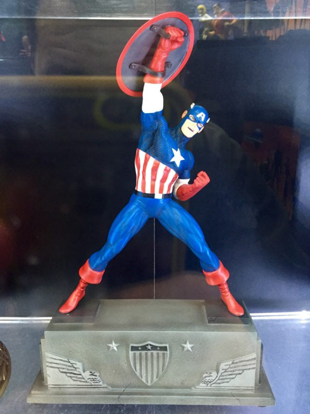 Marvel Premier Collection Captain America Statue Toy Fair 2017