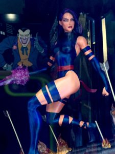 Toy Fair 2017 Marvel Premier Collection Psylocke Statue