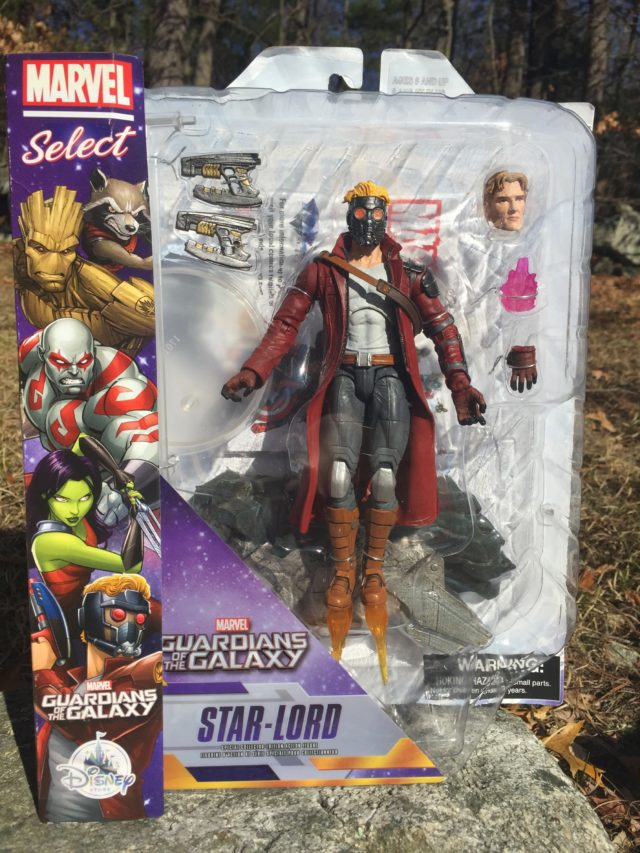 Marvel Select Star-Lord Figure Packaged Marvel Shop