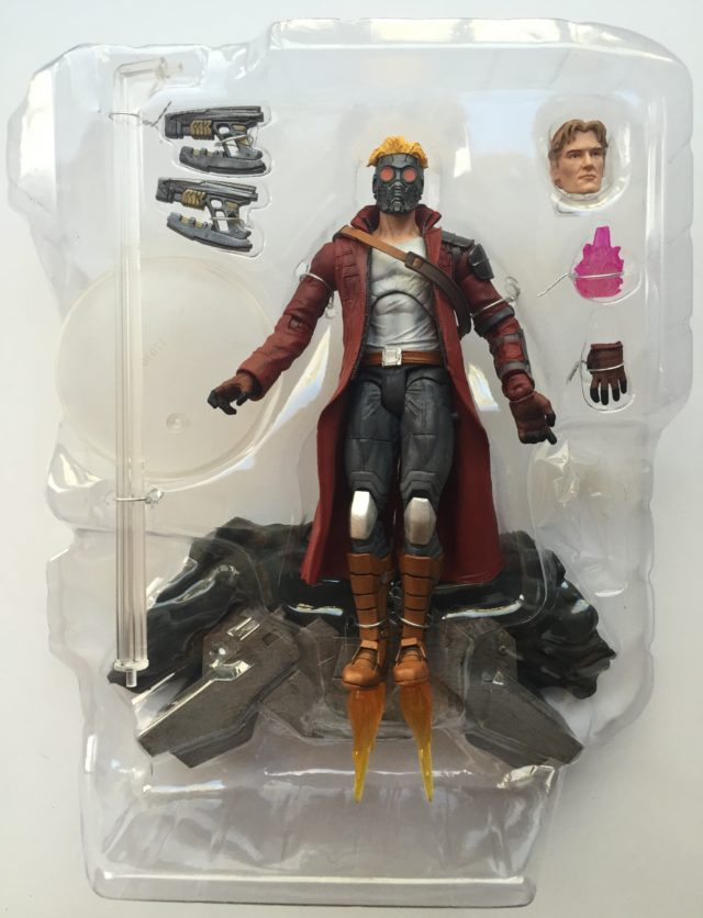 Marvel Select Star-Lord Exclusive Figure Accessories