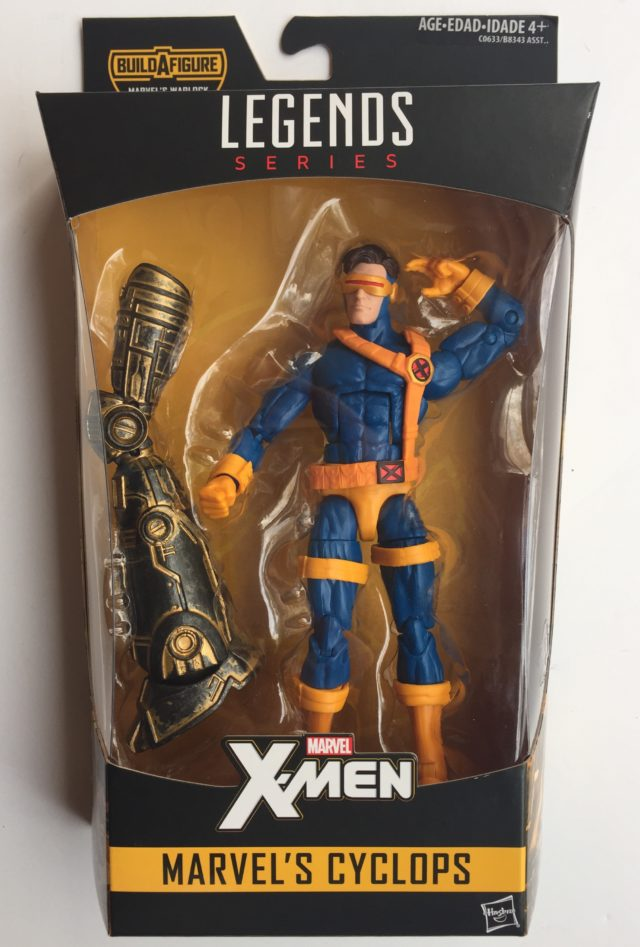 Marvel Legends X-Men Cyclops Figure Packaged Warlock Series