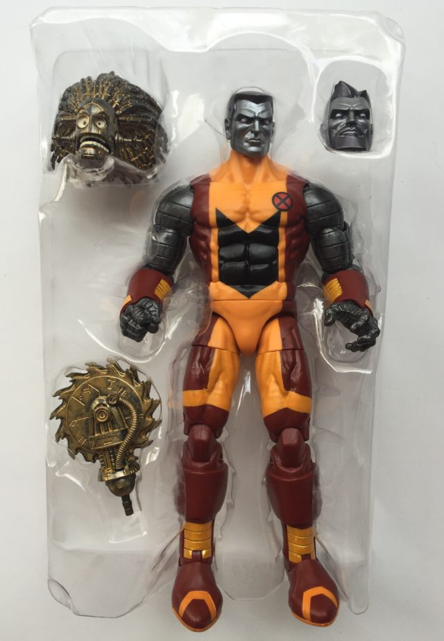 X-Men Legends Colossus Figure with Warlock Head Saw Hand