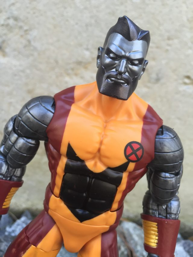 Marvel Legends Bearded Colossus Head Close-Up