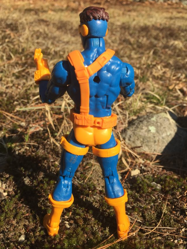 Marvel Legends Cyclops Jim Lee Figure Back