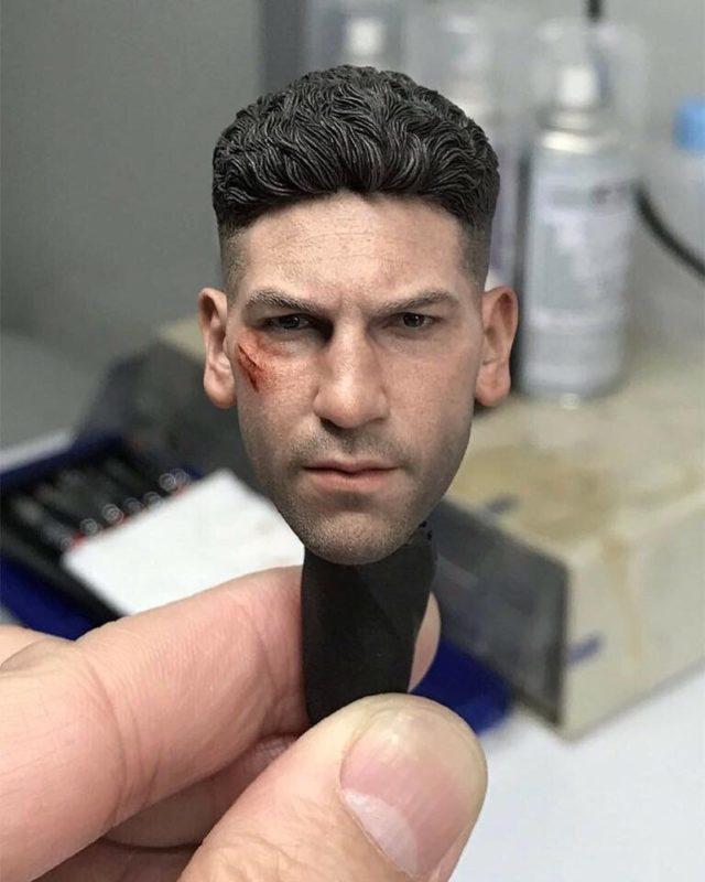 Hot Toys Jon Bernthal Punisher Portrait