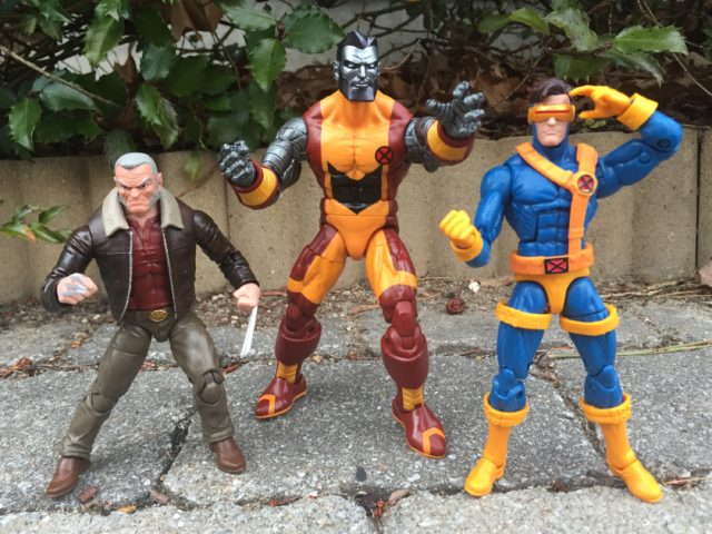 Size Scale Comparison X-Men Marvel Legends Old Man Logan Colossus Cyclops