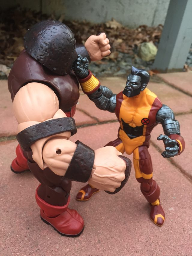 Marvel Legends 2017 Colossus vs. The Juggernaut