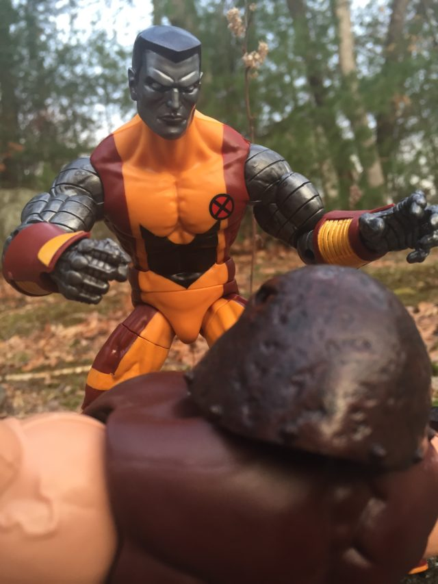 Marvel Legends Colossus vs Juggernaut Figure