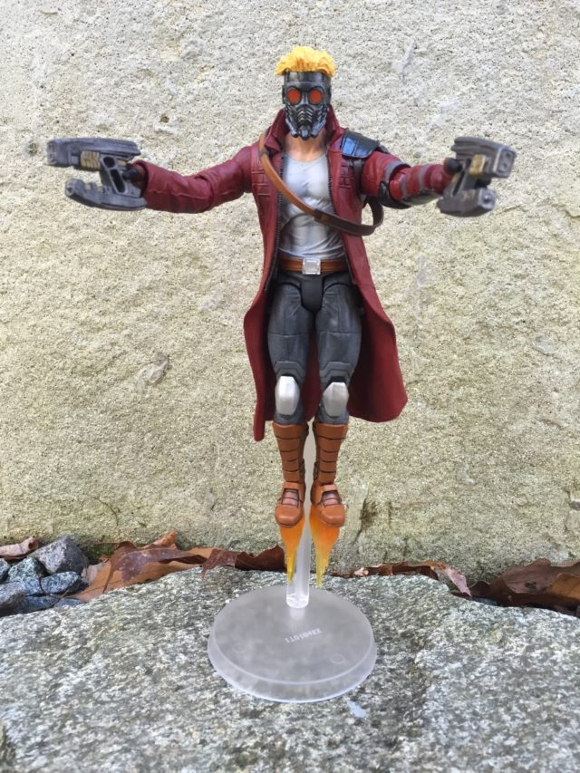 Star-Lord Diamond Select Toys Figure With Jet Boots Effects
