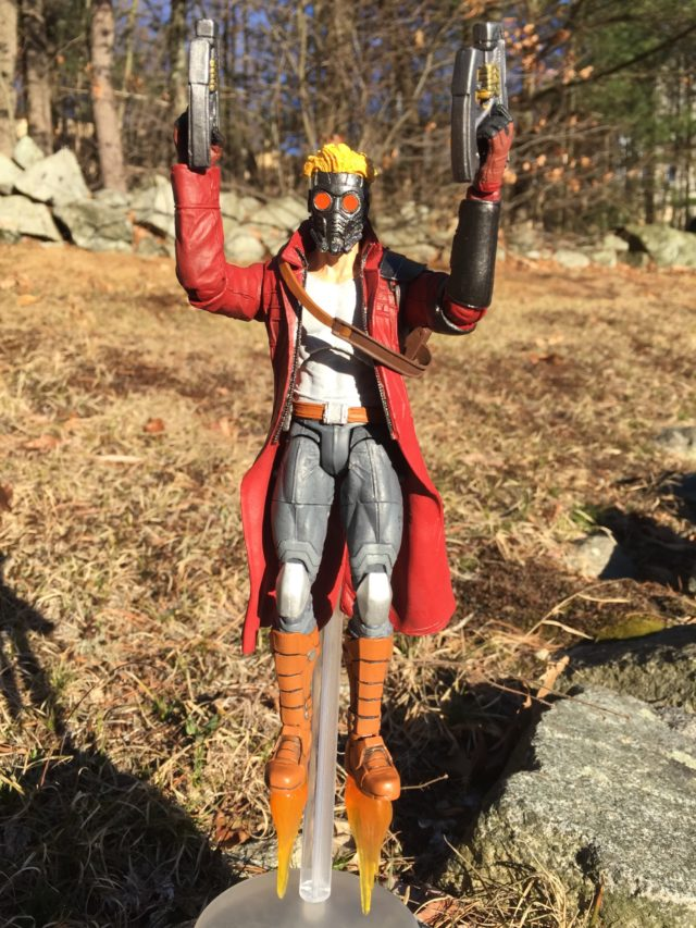 Marvel Select Star-Lord Figure Flying
