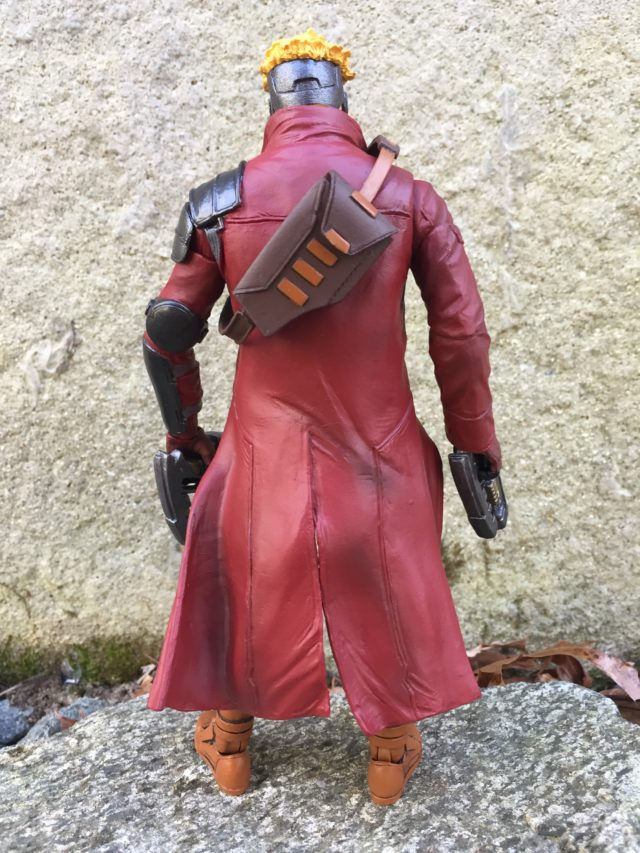 Paint on Back of Star-Lord Marvel Select Disney Store Exclusive Figure