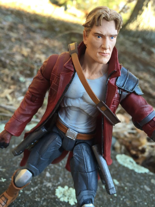 Marvel Select Unmasked Star-Lord Head Sculpt Close-Up