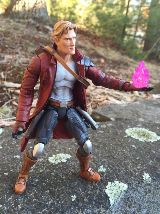 Side View of Star-Lord Select Unmasked Head