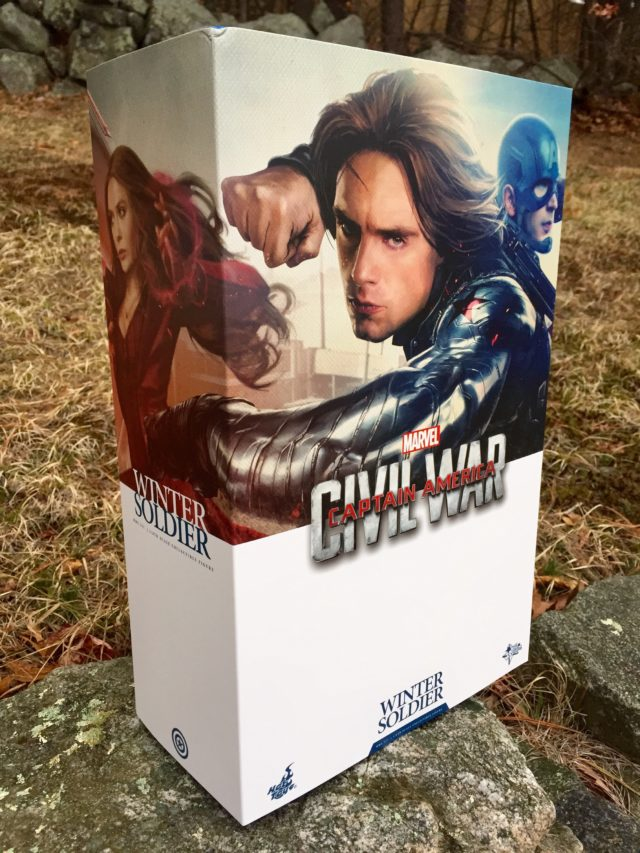 Hot Toys Captain America Civil War Bucky Winter Soldier Figure Box