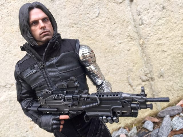 Hot Toys Machine Gun from Winter Soldier Civil War 1/6 Figure