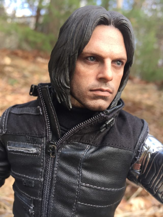 Hot Toys Sebastian Stan Portrait Bucky Head MMS351