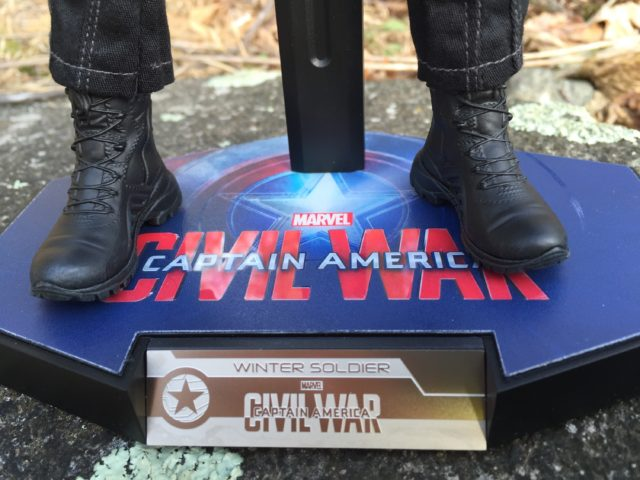 Civil War Winter Soldier MMS351 Figure Stand Name Plate