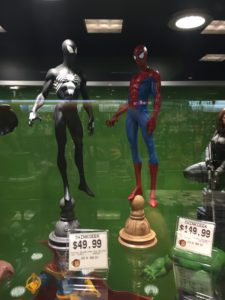 Marvel Gallery Symbiote Spider-Man Statue Comparison Photo