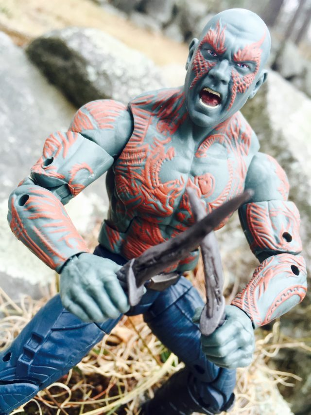 2017 Marvel Legends Drax Movie Figure Review