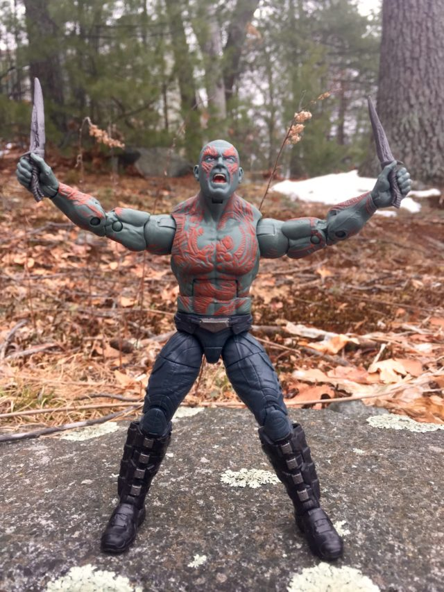 Drax Marvel Legends GOTG Vol. 2 2017 Figure Review