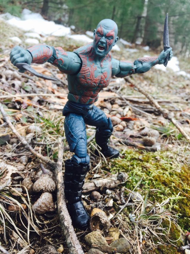 Hasbro Drax GOTG Vol 2 Figure in Attack Pose