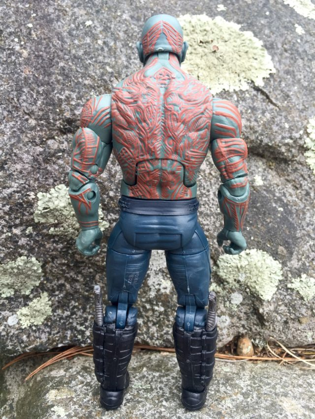 "Back of Marvel Legends 6"" Drax Figure GOTG 2"
