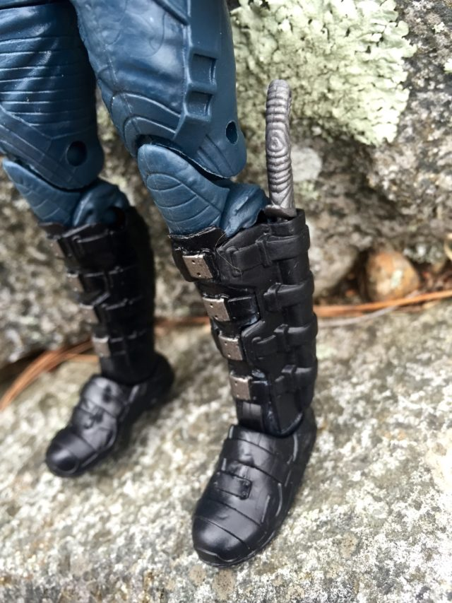 Marvel Legends GOTG Vol. 2 Drax Boots Close-Up