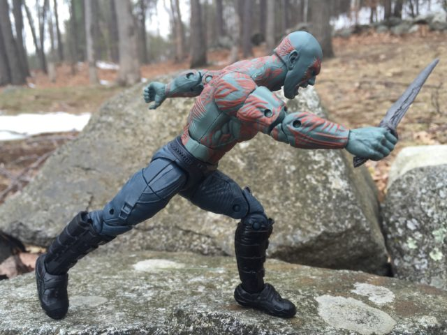 Drax Marvel Legends 2017 Figure in Running Pose