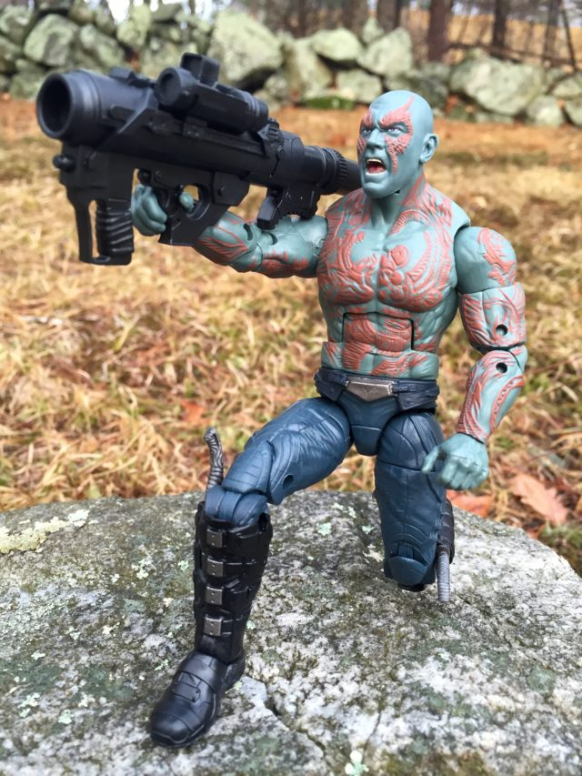 Marvel Legends Drax Movie Figure with Bazooka