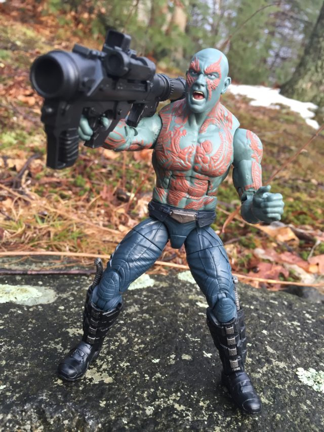 Hasbro Guardians of the Galaxy Vol. 2 Drax Marvel Legends Figure Review