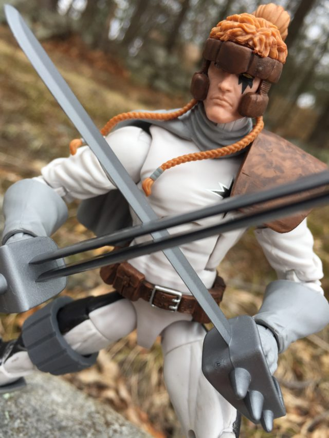 "X-Men Legends Shatterstar 6"" Figure Head Sculpt"