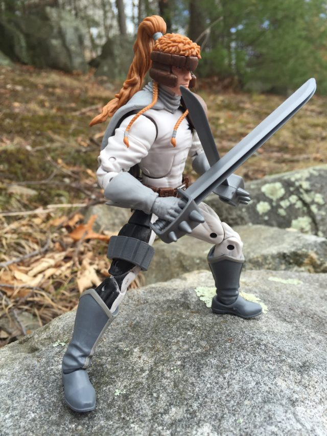 "Side View of Shatterstar ML 6"" Figure"