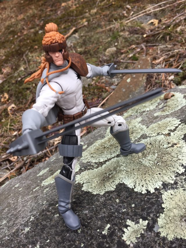 2017 Marvel Legends Shatterstar Figure Review