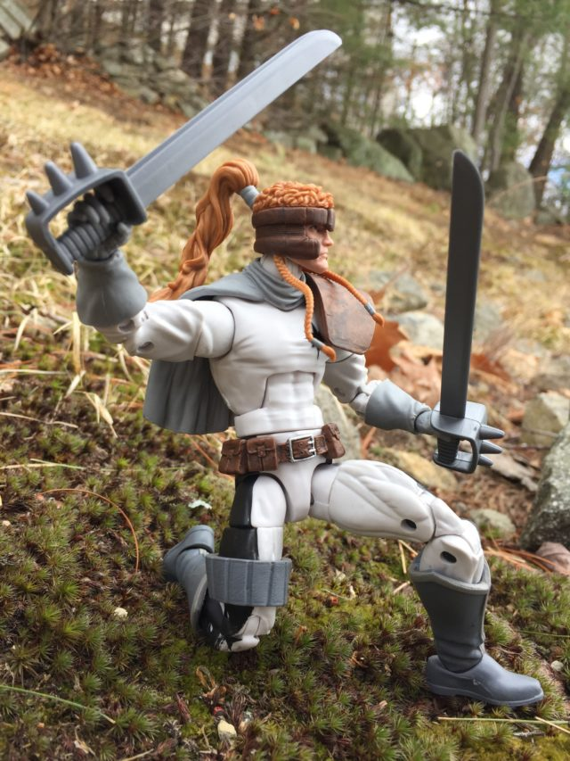 Marvel Legends Shatterstar Swords Hasbro 2017