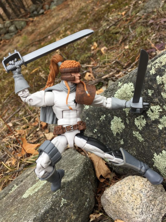 Shatterstar Marvel Legends 2017 Figure Articulation
