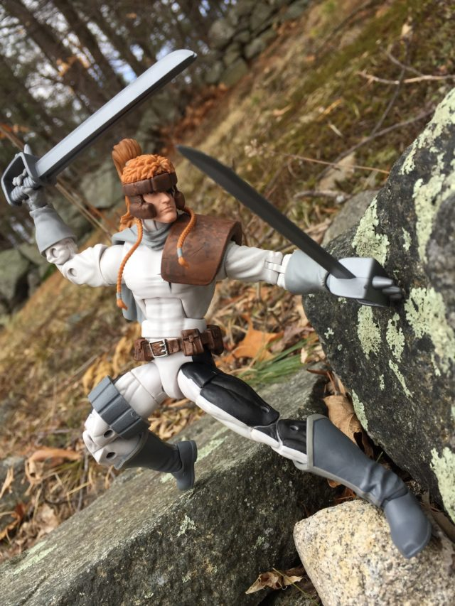 Marvel Legends Shatterstar Figure Review