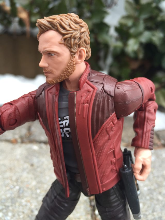 Close-Up of Marvel Legends Star-Lord 2017 Figure Jacket