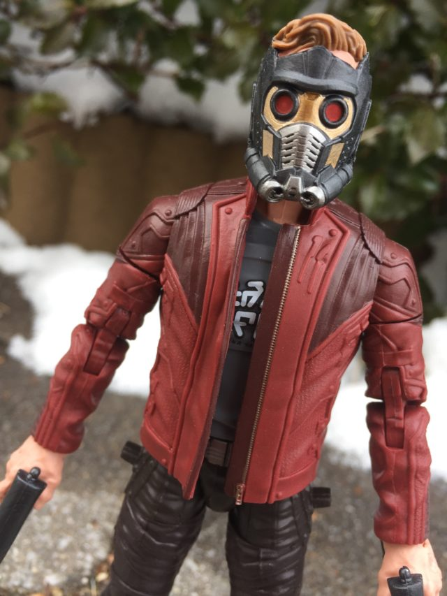 "Star-Lord Marvel Legends 6"" Figure Masked Helmet Head"