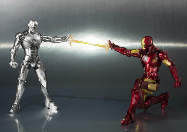 Iron Man Mark II Figuarts Figure vs Mark III