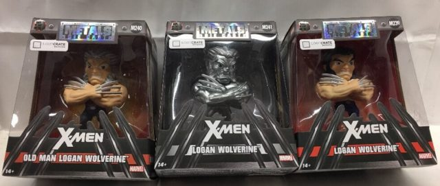 LootCrate Wolverine Logan Metals Figure March 2017 Exclusive