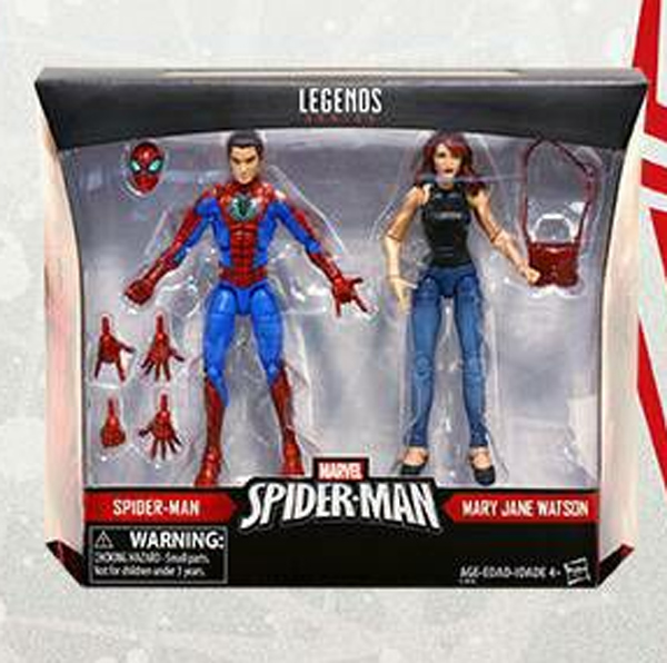Marvel Legends Spider-Man and Mary Jane Two Pack