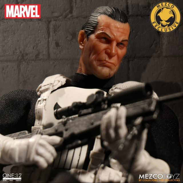 Mezco ONE 12 Collective Classic Variant Punisher Figure