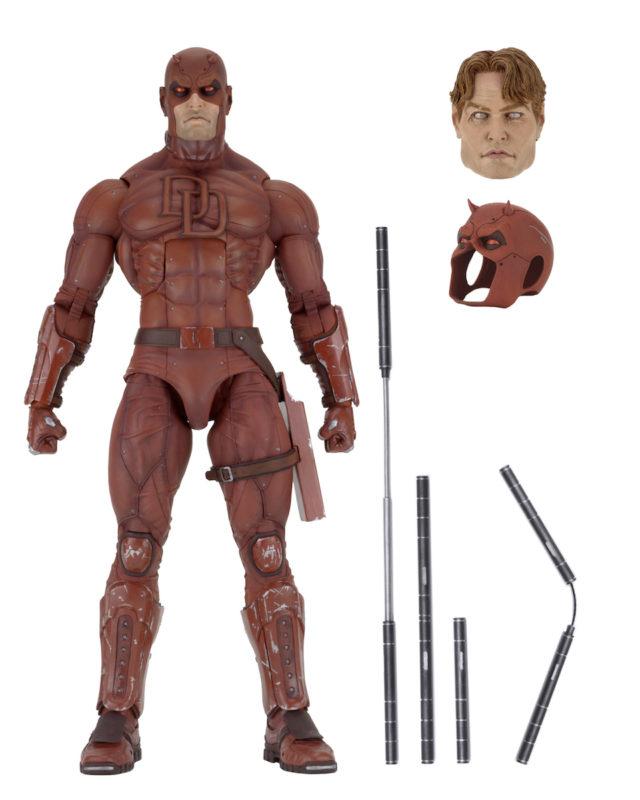 NECA Daredevil Figure and Accessories