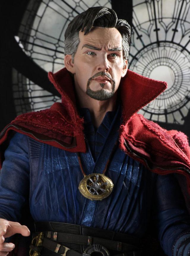 NECA Doctor Strange Figure Close-Up Benedict Cumberbatch Head