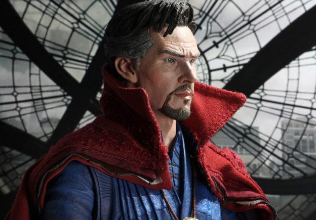 NECA Movie Doctor Strange Figure Benedict Cumberbatch Head