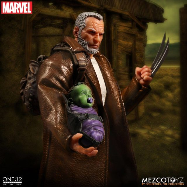 ONE 12 Collective Old Man Logan Holding Baby Hulk