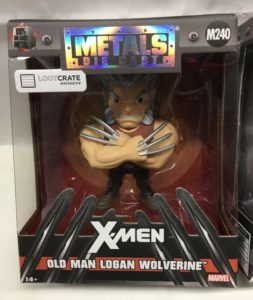 Old Man Logan Jada Metals Loot Crate Exclusive Figure