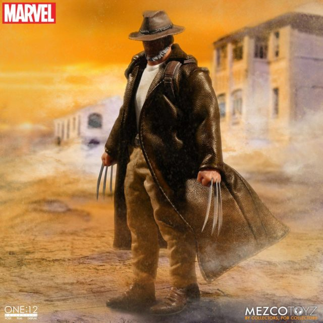 Old Man Logan One 12 Collective Figure with Hat On