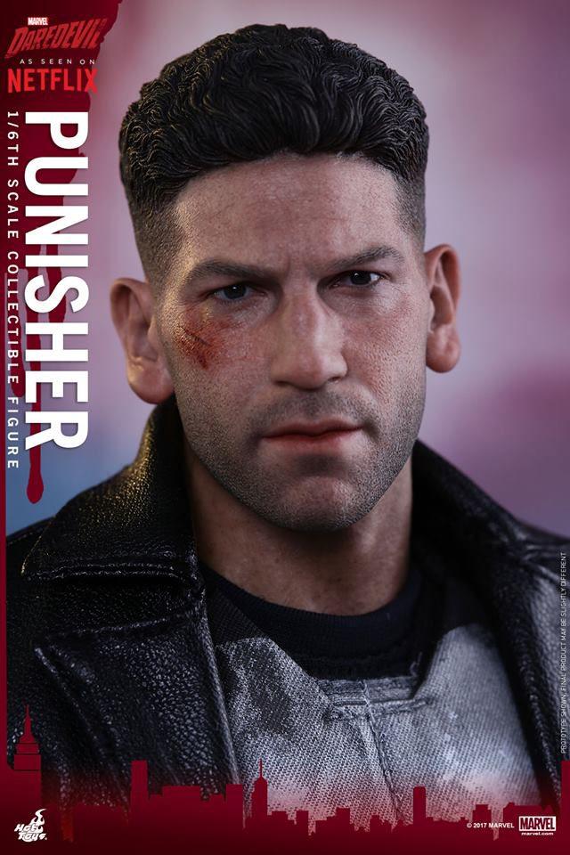 Punisher Hot Toys Jon Bernthal Likeness Head Portrait